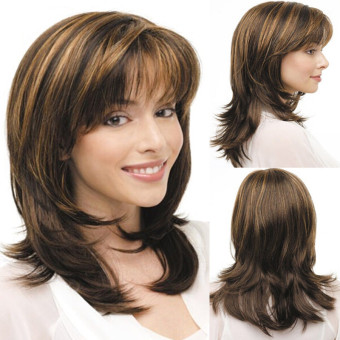 Women Medium Long Curly Wigs - intl Price Philippines