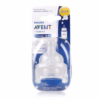 Philips AVENT wide caliber pacifier pair 2 SCF631/22 Price Philippines