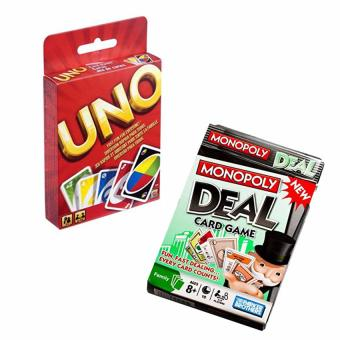 Harga Uno Card and Monopoly Deal Card Game (pls read what's in the box)