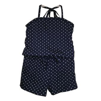 Harga Kid Basix Navy Culottes with Small Dots Print (Navy)