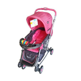 Baby 1st Stroller with Reversible Handle and Rocking Feature S-036CR, PEACH Price Philippines