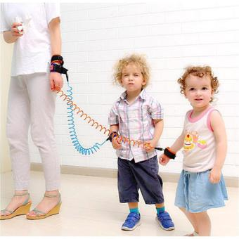 Harga QF Baby Safety Harness Strap Child Anti Lost Belt- 1.0m (Blue)