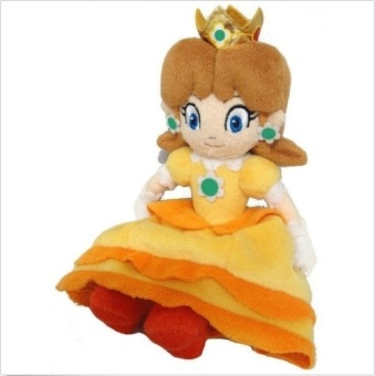 "Super Mario Bros 8"" / 20cm Princess Daisy Soft Plush Doll Toy For Kids Baby Gift - Intl Price Philippines"