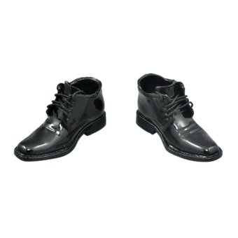 "BolehDeals Black 1/6 Scale Lace Up Shoes For 12"" Male Figure Body Price Philippines"
