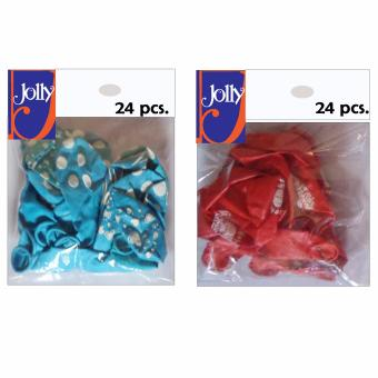 Harga Happy Birthday Balloons 24`s Sky Blue & 24`s Red