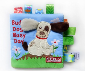 Harga Buddy Dog Soft Book