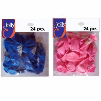 Harga Happy Birthday Balloons 24`s Blue & 24`s Pink