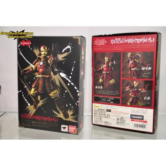 Bandai 4549660112051 Meisho Manga Realization Koutetsu-Samurai Ironman Mk-3 Action Figure ORIGINAL* Price Philippines
