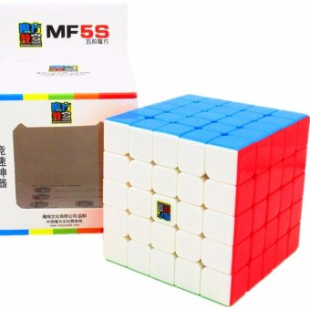 Harga Moyu Mofang MF5S MF8801 Stickerless 5x5x5 Speed Rubik's cube