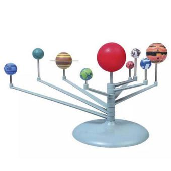 Harga YingWei Cute Sunlight Solar System Celestial Bodies Planets Model DIY Simulation Eductional Toys The Nine Planets Teaching model