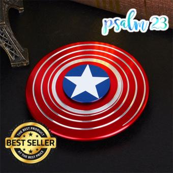 Captain America Fidget Spinner (Solid Brass Metal) Price Philippines