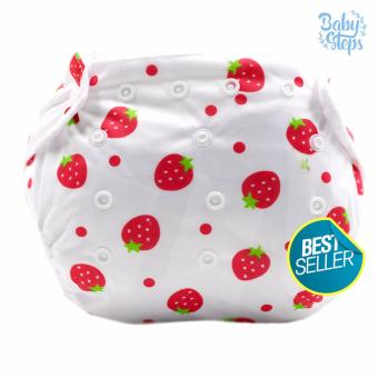 BABY STEPS StrawBeary Baby Diapers (Pink) Price Philippines