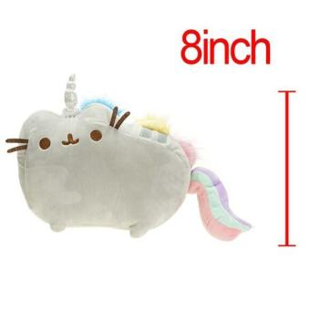 1pc 20cm/25cm Kawaii Cute Pusheen Cat Rainbow & Cake Style Plush Toys Stuffed & Plush Animals Toys Cute Cushion Kids Baby Doll - intl Price Philippines