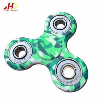 Fidget Finger Spinner Camouflage EDC Finger Toys Hand Spinner ABS Tri-spinner Anti Stress Autism (Green) Price Philippines