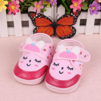 Harga Fisher-price Shy rabbit shoes pink