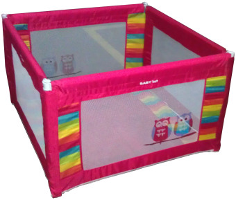 Baby 1st Square Foldable Playpen P-521D RED A Price Philippines