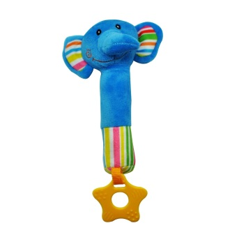 Enfant Baby Rattle Soft Squeaky Elephant Toy Price Philippines