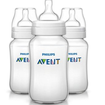 Philips AVENT Classic Plus BPA Free Polypropylene Bottles, 11 Ounce Price Philippines