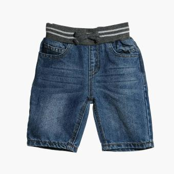 Just Jeans Boys Drawstring Denim Shorts (Blue) Price Philippines