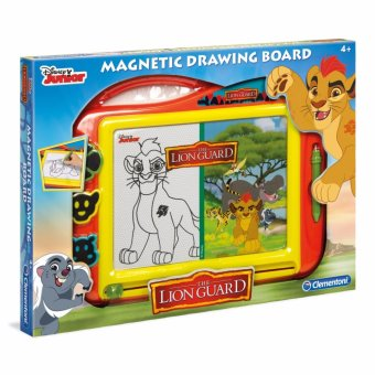 Harga Clementoni Magnetic Drawing Board Lion Guard