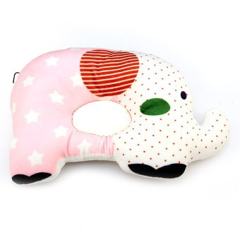 Harga Andux Baby Infant Newborn Anti-flat Pillow Sleep Positioner Prevent Flat Head Cushion BBDXZ-01 Pink