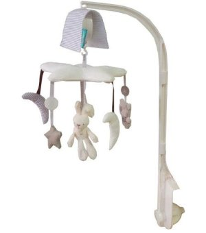 Harga Baby Crib Musical Mobile Cot Bell Music Box Baby Bed Rattles - intl