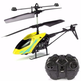 MJ 2CH Remote Control RC Helicopter With Gyro Yellow - INTL Price Philippines