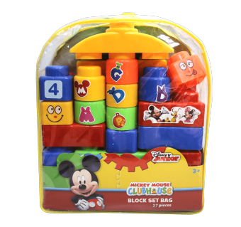 Harga Mickey Mouse Blocks Set With Bag 564