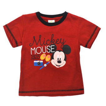 Harga Mickey Mouse Shirt (red)