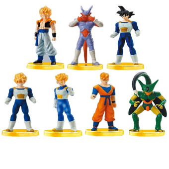 7pcs 13cm Dragon Ball Figure Action Toys Goku PVC Action Figure Toys - intl Price Philippines