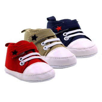 Baby Steps Star Baby Boy Shoes Set of 3 Price Philippines