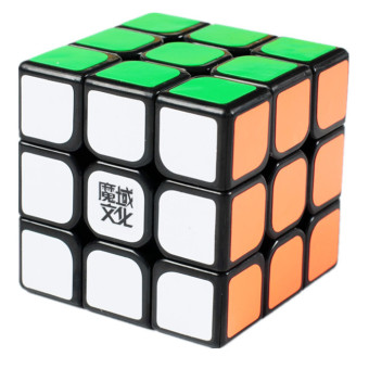Harga MoYu Aolong 3x3 Plus Cube Puzzle Black