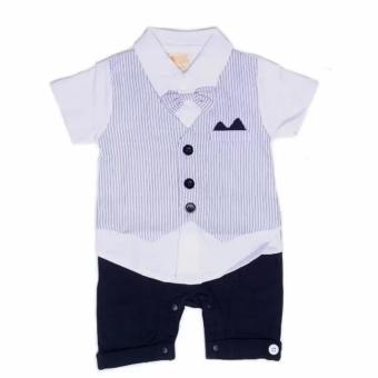 Harga Gentlemen Suit Baby Romper For 12 to 18 Months Old