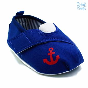 Baby Steps Anchor Baby Boy Shoes (Blue) Price Philippines