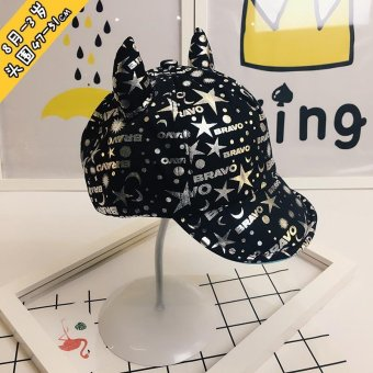 Bear Fashion Baby Cool Star Girls Boys Hats Caps - intl Price Philippines