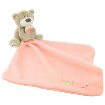 Lovely Bear Baby Security Blanket Pink Price Philippines