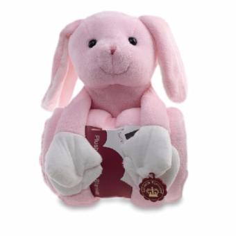 Harga Luvena Fortuna Plush Animal and Blanket (Rabbit)