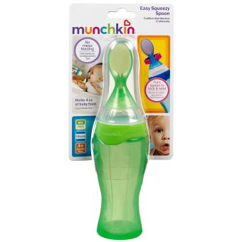 Munchkin Easy Squeezy Spoon (green) Price Philippines