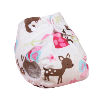Harga Eozy Newborn Baby Cloth Diapers Deer Pattern Infants Adjustable Reusable Washable Nappies Modern Nappy Diaper