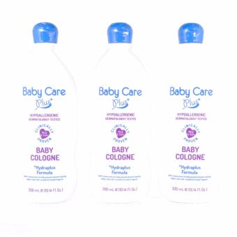 Baby Care Plus Baby Cologne Set of 3 300mL Price Philippines
