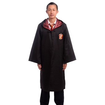 Harga Adult Harry Potter Magic Robe Cloak Deluxe Robe Size-M (Gryffindor)