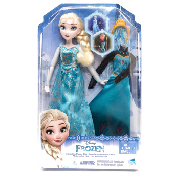 Harga Disney Frozen Coronation Change Elsa Fashion Doll