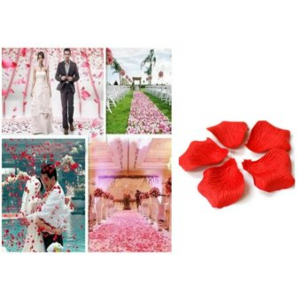 100 Pcs. Rose Petals Simulation Wedding Party Decoration Price Philippines