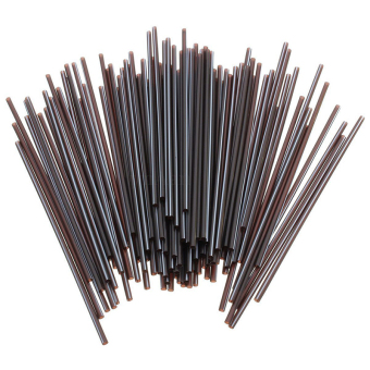 100X Black Plastic Mini Cocktail Straws For Party Supplies - Intl Price Philippines