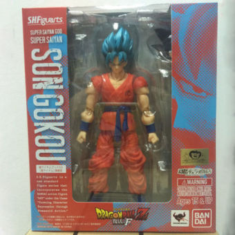 Anime Dragon Ball Z SH Figuarts Super Saiyan God Goku Joint Movable PVC Action Figure Collection Model Kids Toy Price Philippines