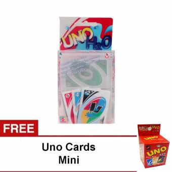 UNO H2O Card Game Waterproof with free Uno Card Mini Price Philippines