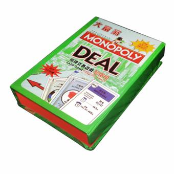 Harga Monopoly Deal Card Game 132 Cards with Gift Hard Box