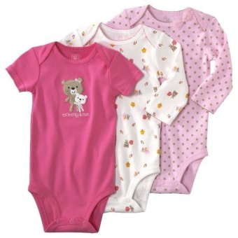 Harga Carter's 3-Pack Bodysuits - Mommy & Me