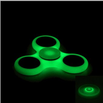 Luminous Fidget Hand Finger Spinner Spin Widget Focus Toy EDC Pocket Desktoy Luminous - intl Price Philippines