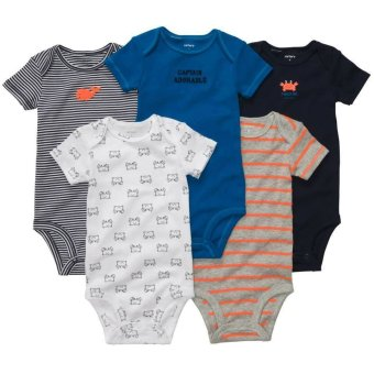 Harga Carter's 5-Pack Bodysuits - Captain Adorable